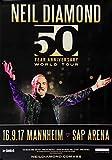 Neil Diamond - 50 Years World Tour, Mannheim 2017 »