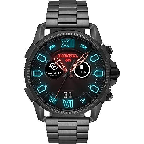 Diesel Smartwatch Uomo con Cinturino in Acciaio Inox DZT2011
