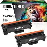 Cool Toner Kompatibel für Brother TN-2420 TN-2410 TN2420 Tonerkartusche Replacement für Brother MFC-L2710DW MFC-L2710DN HL-L2350DW HL-L2310D DCP-L2510D DCP-L2530DW HL-L2370DN MFC-L2730DW MFC-L2750DW