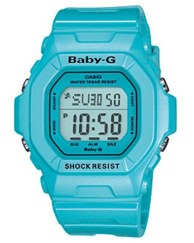 Casio Baby-G Damen-Armbanduhr blau Digital Quarz BG-5601-2ER
