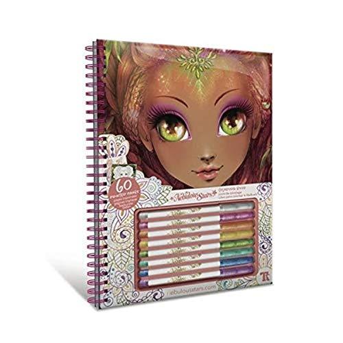Nebulous Stars- Hazelia Cuaderno para Colorear, Multicolor (Educa Borrás 17840)