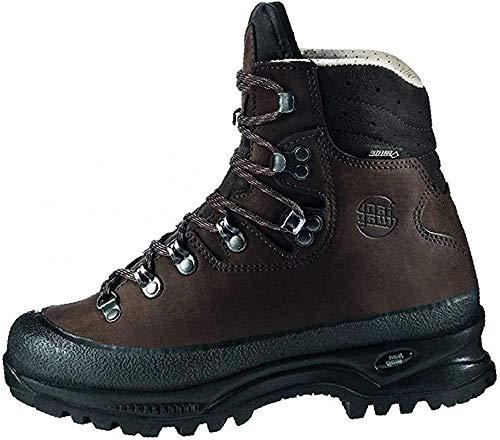 Hanwag Damen Alaska Lady GTX Trekking- & Wanderstiefel, Braun (Erde), 40.5
