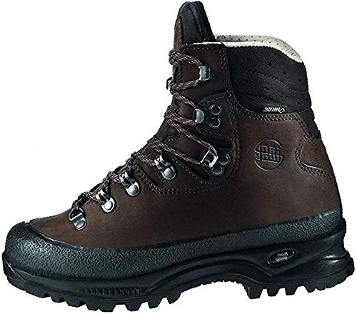 Hanwag Damen Alaska Lady GTX Trekking- & Wanderstiefel, Braun (Erde), 37 EU