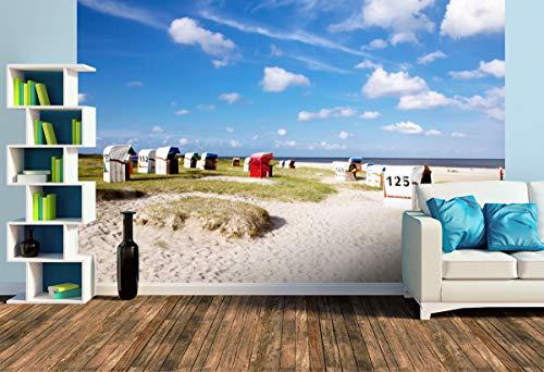 Premium Foto-Tapete Strand von Schillig (versch. Größen) (Size L | 372 x 248 cm) Design-Tapete, Wand-Tapete, Wand-Dekoration, Photo-Tapete, Markenqualität von ERFURT