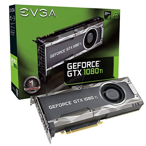 EVGA GeForce GTX 1080 Ti Gaming, 11GB GDDR5X, DX12 OSD Support (PXOC) Graphics Card 11G-P4-5390-KR (Renewed)