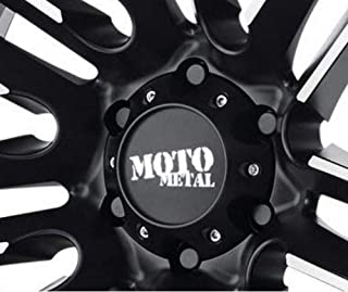 Moto Metal 978 Razor Center Cap MO978 Gloss Black fits 6x139.7 6x5.5 Wheels 1079L145SGBMO1