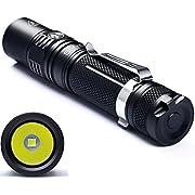LED-Taschenlampe Sofirn SP32 Hochleistungstaschenlampe mit 960 Lumen Superhell Cree XPL2 V6 LED Taschenlicht Lampe Set IPX8 Wasserdichtes 18650 Akku und Ladegerät im Lieferumfang enthalten