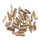 Byher Driftwood Pieces for Crafts Frames Wreath Surf Art Beach Decor (1' - 4', 8OZ, 55pcs)