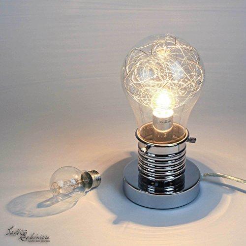 nachttisch lampenschirm glas