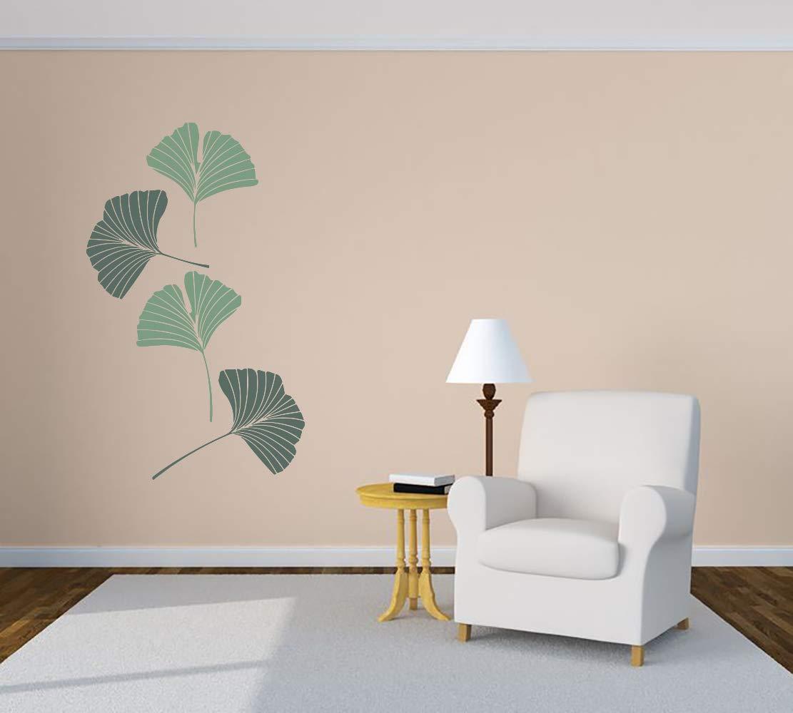 Ginkgo Biloba Leaf Plant Aesthetic Room Car Sticker Vinyl Wall Direct sale of Sale SALE% OFF manufacturer M