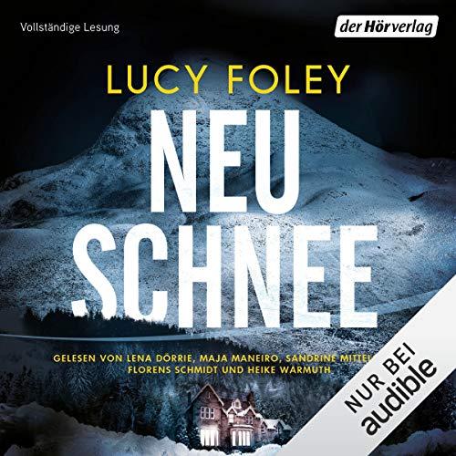 Neuschnee audiobook cover art