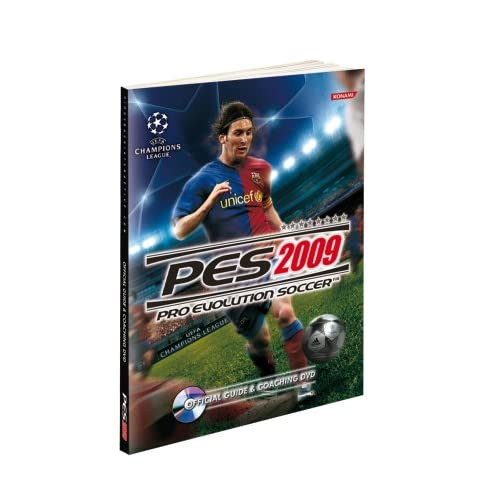 PES 2009: Pro Evolution Soccer Official Guide & Coaching DVD, Book/DVD Package