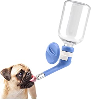Royale Cat No-Drip Pet Water Dispenser,Dog Kennel Cage Water Bottle Drinker Kettle for Pets can be Raised and Lowered Drin...