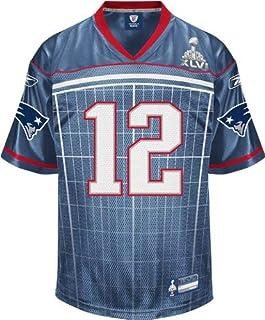 Amazon.com: super bowl patriots jersey