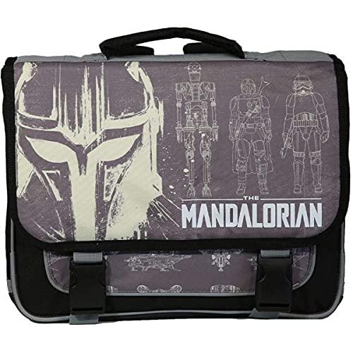 Cartable 38 cm Star Wars/The Mandalorian Gris Bagtrotter