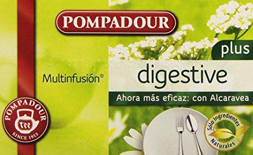 Pompadour - Infusion Digestive plus - 20 bolsitas