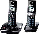 Panasonic KX-TG8062GB Telefon schnurlos mit Anrufbeantworter schwarz