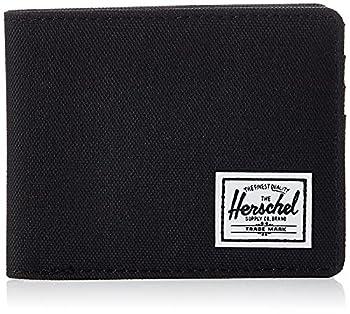Herschel unisex adult Roy Rfid Bi Fold Wallet black One Size US