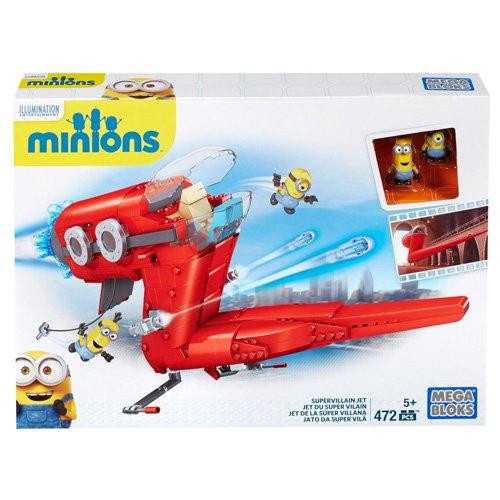 MINIONS - Juego de construcción, avión...