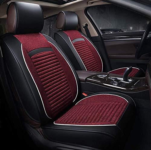 Universele linnen auto stoelhoezen voor Mini alle modellen Cooper landgenoot Cooper Paceman auto Styling auto accessoires Rood