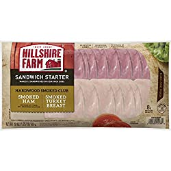 Hillshire Farms Hardwood Smoked Club Sandwich Starter, 20 oz.
