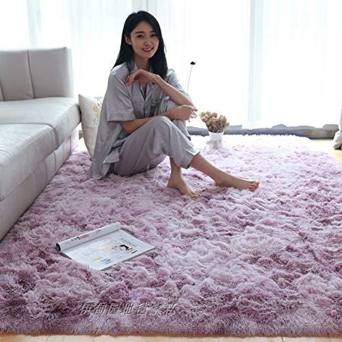 XJ&DS Ultra Soft Shaggy Area Rug,For Living Room Fluffy Rug,Home Decor Floor Mat,High Pile Shag Rug,Bedside Room Rug Carpet