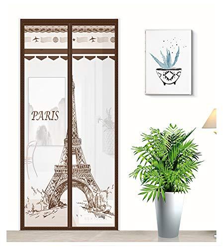 Sommerhaus Schlafzimmer Anti-Moskito-Fliege Dünnschnitt Gaze Vorhang Familie Gesundheit und Komfort Anti-Moskito-Vorhang A1 B100xH210