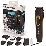 Rowenta Multistyler 8 en 1 Basic TN8940, Cortapelos y barbero profesional con 60 min de autonomía, 8 accesorios de corte y fácil limpieza