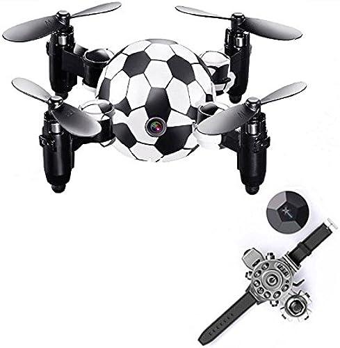 KYOKIM Uhr und Handy App Steuerung Zusammenklappbare Drohne Synchronübertragung Luftaufnahmen 8  8  3 cm Flugzeit  6 Minuten