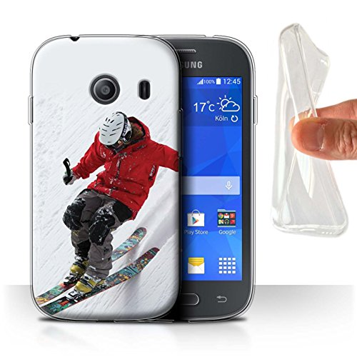 Var voor skiën/snowboarden SG-GC Samsung Galaxy Ace Style Slope Skiing
