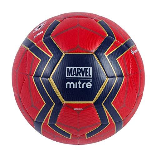 Mitre, 5-A001, Scriball Spiderman, Bambino, Rosso (Red/Blu), 5
