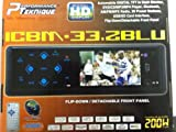 Performance Teknique ICBM-33.2BLU Automobile Digital TFT Monitor, Flip-Down /...