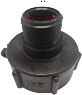 IBC adapter do zbiornika, 1000-litrowe łączniki przegubowe IBC, twarde połączenia rurowe, plastikowe IBC Tote Tank Connect...