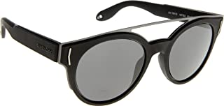 Sunglasses Givenchy Gv 7017/S 0VET Black Ruthenium/E5 gray lens