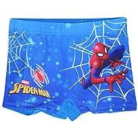 Marvel Spiderman - Bañador para niño Azul (Web) 4-5 Años