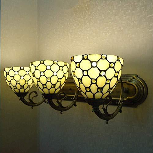 Wandlamp wandlamp wandlamp dresser make-up wandlamp in Europese stijl romantisch eenvoudige spiegel badkamerspiegel prachtige uitvoering 60 x 22 cm paar