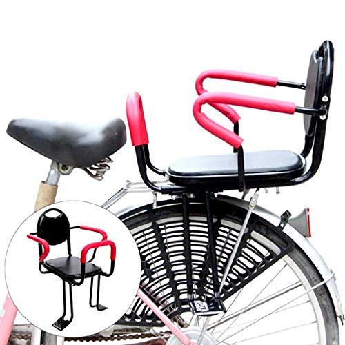 LIfav Fahrrad-Sonderkindersitz, Kinder Zaun Stuhl-Sicherheits-Hinterer Baby-Autositz Auto Batterie, Geeignet Für Kinder Im Alter Von 2-8