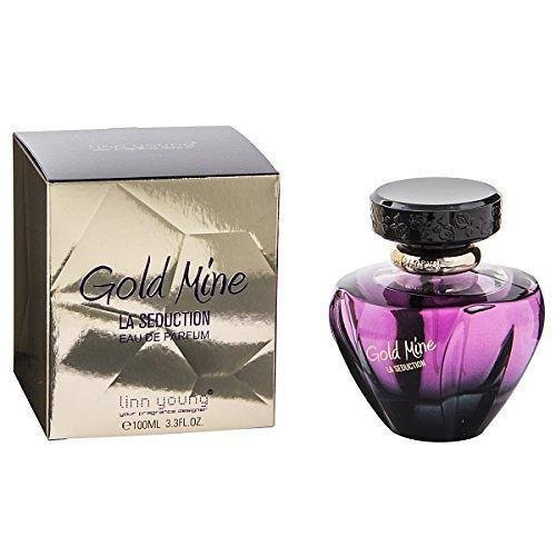 Gold Mine La Seduction Linn Young 100 ml Eau de Parfum Spray Neu und verpackt
