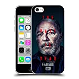 Head Case Designs Officially Licensed Fear The Walking Dead Daniel Season 6 Characters Soft Gel Case Compatible with Apple iPhone 5c