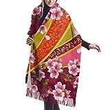 27'x77 Bufandas Grandes para Mujeres Tigre de Bengala en el Bosque Mostrar Cabeza y Pierna Bufanda Larga de Cachemira Bufanda para Mujer Ligera Elegante Manta Grande y cálida