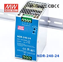 Meanwell NDR-240-24 Power Supply - 240W 24V 10A -Slim and Economical