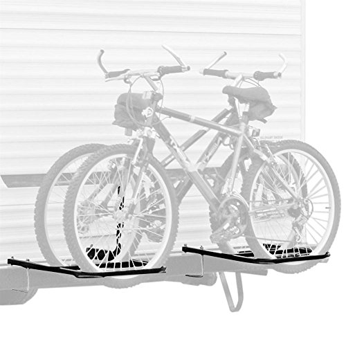 Elevate Outdoor RV or Camper Trailer Bumper Bike Rack for 1-2 Bicycles