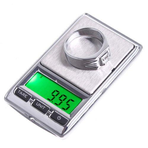 KKmoon 0,01 g x 100g/0.1g x 500g Dual Mini Digital Taschenwaage Schmuckwaage Digitalwaage