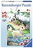 Ravensburger Unicorn Castle 35 Piece Jigsaw Puzzle for Kids – Every Piece is Unique, Pieces Fit Together Perfectly