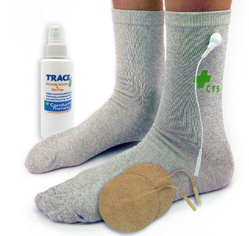 Premium Conductive Socks Pair Package