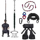 DASKING Nuevo tipo cuerda elástica bandas de resistencia para el gimnasio en el hogar, yoga, cinturón de gravedad, deporte profesional, ideal para gimnasio familiar, estudio (clase de peso -2)