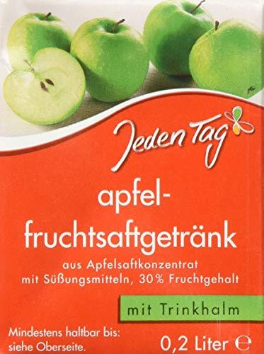 Jeden Tag Apfelfruchtsaftgetränk, 10er Pack (10 x 200 ml), 206348
