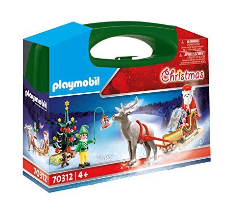 Playmobil 70312 Grande Valise de Noël avec Jouet Multicolore