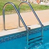 MTFY Swimming Pool Ladder, Stainless Steel Swimming Pool Step Lader for...