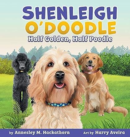 Shenleigh O'Doodle,  Half Golden, Half Poodle
